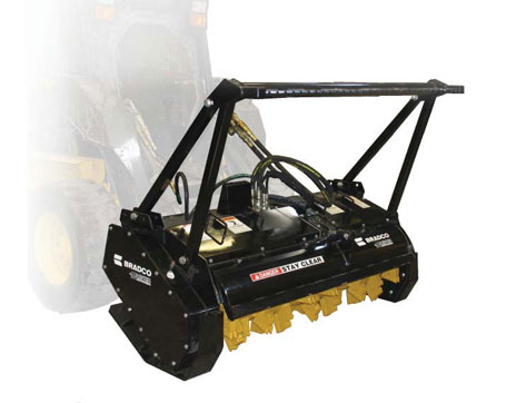 Skid Steer Tree Mulcher